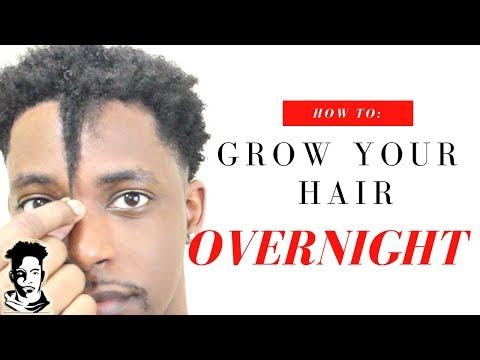 How To Grow Your Hair OVERNIGHT | WINSTONEE