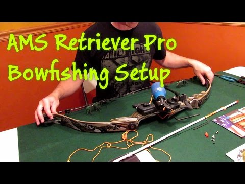 AMS Retriever Pro Bowfishing Setup and Review