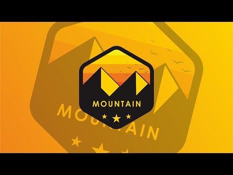 Creative Mountain Logo Design Inspiration   CorelDRAW Tutorial