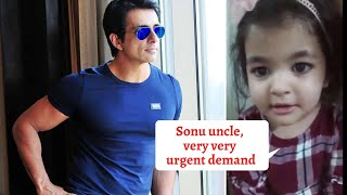 Sonu Sood gets the cutest REQUEST from a little girl and his EPIC reply will surely melt your heart