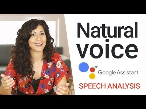 Google Assistant Making Calls | Speech Analysis | What makes a voice sound natural?🤔