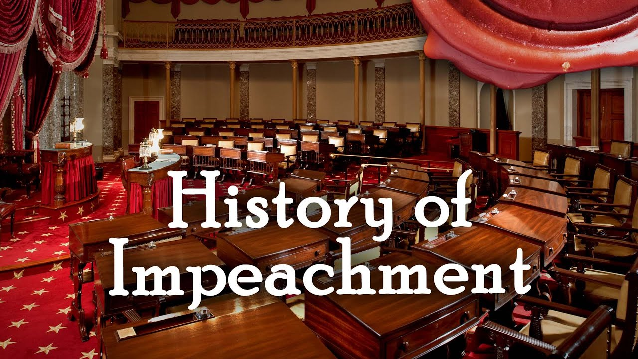 History of Impeachment - Trial of President Johnson