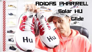 fbae3e2ca ADIDAS PHARREL SOLAR HU GLIDE REVIEW (Unboxing and on foot opinion)