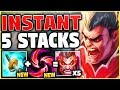NEW KEYSTONE + NEW ITEM = INSTANT 5 STACKS ON DARIUS! THIS 100% WILL BE NERFED! - League of Legends