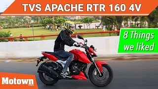 new TVs apache Rtr 160 4v| real mileage test| after 1st