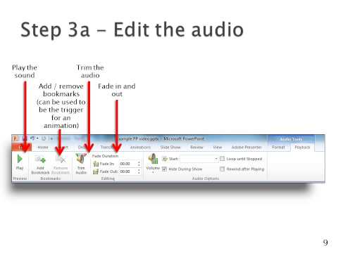 Make a video using PowerPoint 2010