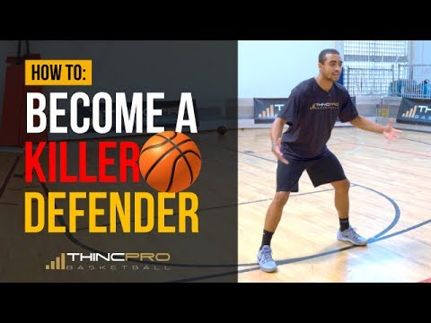 How to - Become a KILLER DEFENDER in Basketball! (Basketball Defense Tips for Young Players)