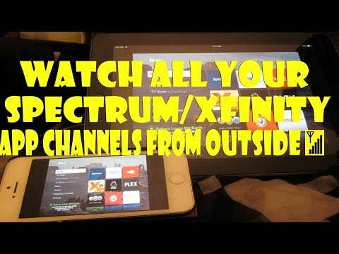 Watch ALL Your Spectrum/Xfinity App Channels On OUTSIDE 📶 Wifi. Stream Your Roku Apps To Your IPhone