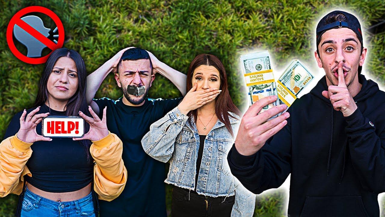 Last to TALK Wins $20,000 - Challenge