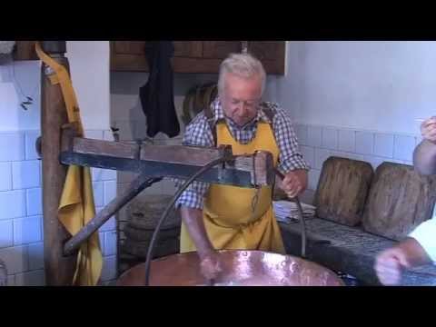 Channel Cheese - Traditional making of Toma Ossolana by hand in Northern Italy - How to make cheese!