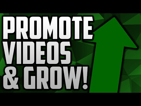How To Grow Your YouTube Channel By Promoting Videos With Sharree!