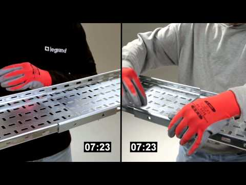 How To Fit Legrand's Swiftclip From The Swifts Cable Tray Range