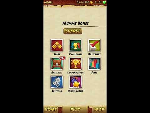 [Temple Run 2] Artifacts cheated