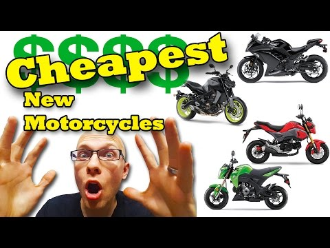 Cheap NEW Motorcycles That Will Surprise You