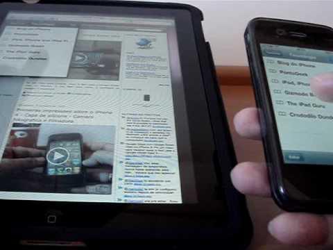 iPhone 4 vs iPad