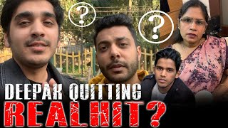 Deepak Quitting RealHIT ?? | Serious Family Fight | DSP VLOG