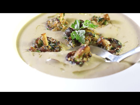 Mushroom Veloute Soup – Bruno Albouze – THE REAL DEAL