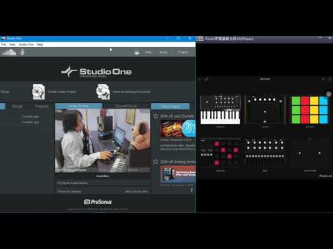 Ipad Sebagai Midi Controler Di Studio One