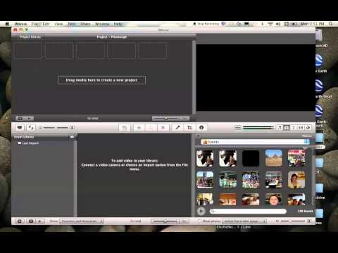 Uploading Photos into iMovie