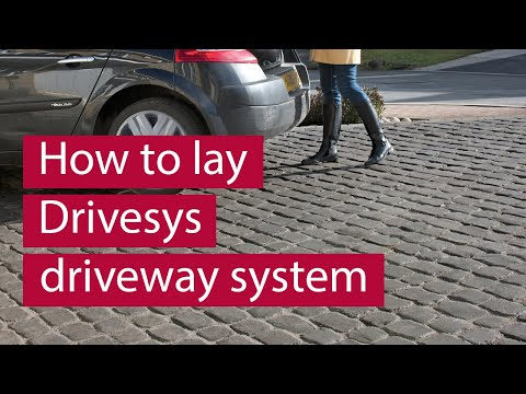 How to lay COBBLETECH Driveway System