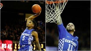 Which Kentucky Wildcat Dunked Better?   CampusInsiders