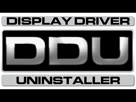 HOW TO uninstall display drivers [NVIDIA & AMD]
