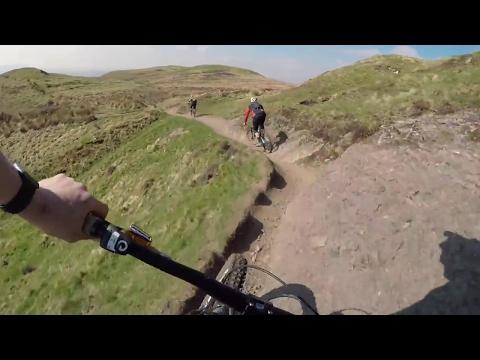 Dumyat - mtb - Scotland - Gopro Karma Grip