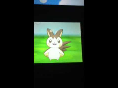 My shiny emolga! Pokemon X&Y