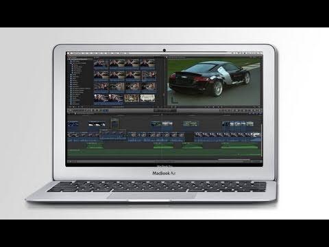 Final Cut Pro X Running on 2011 MacBook Air + Speedtest