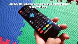 MX3 Air Mouse - Programming Infrared (IR) Buttons