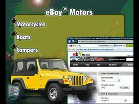 How to Buy a Car on eBay® by Video Professor