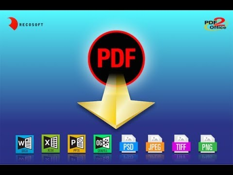 How to Convert PDF to Word, Excel, PowerPoint, OmniGraffle on Mac using PDF2Office Professional 2017