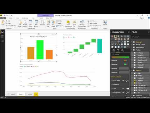 Power BI - Coloring charts