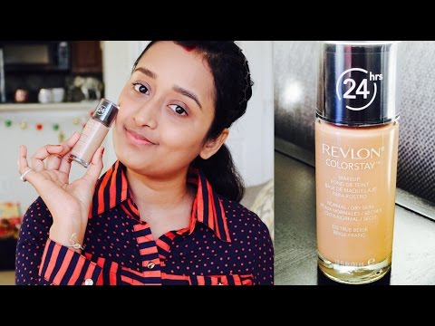 Revlon Colorstay Foundation Review & Demo | Sweet Nika