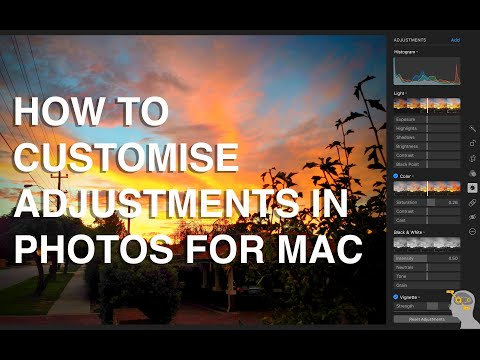 How to add and use adjustments in Photos for Mac - Apple Training