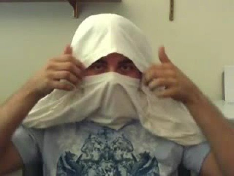 How To Make A T-Shirt Ninja Mask