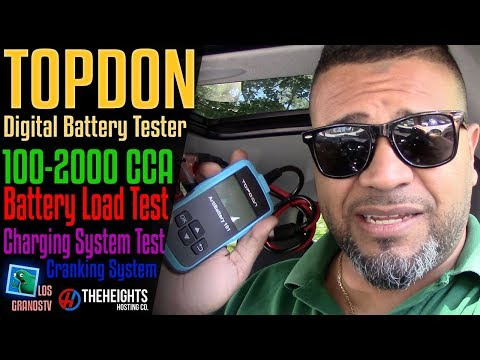 Topdon AB101 Digital Battery Test Tool  🚘  : LGTV Review