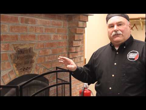 Safety items anyone using their fireplace or wood stove should have