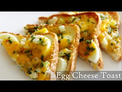 Egg Cheese Toast Recipe | Quick Toast Recipes- Indian Easy Egg  Recipes By Shilpi