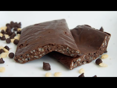Chocolate Crunch Candy Bar | Vegan | 2 Ingredients