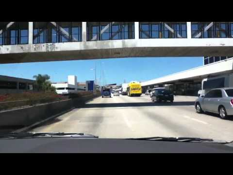 Driving to LAX Airport
