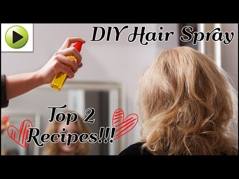 DIY Hair Spray