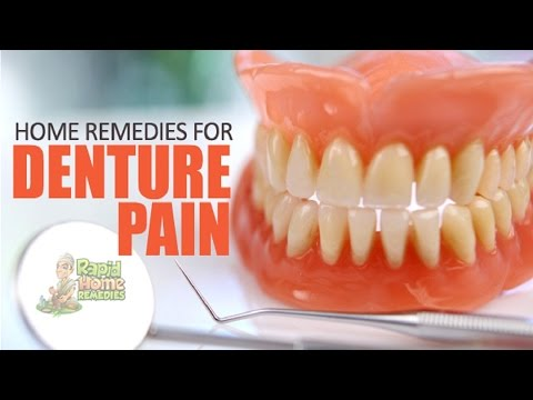 5 Home Remedies for Denture Pain.