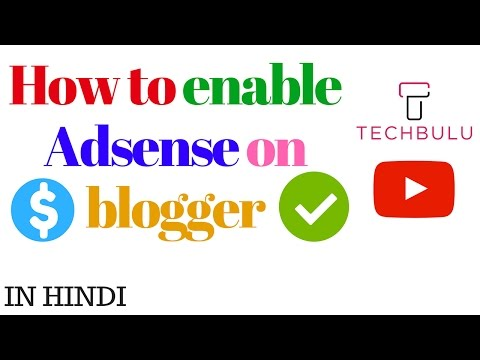 How to enable adsense on blogger