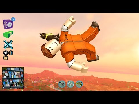 HILARIOUS JAILBREAK FLYING GLITCH IN ROBLOX