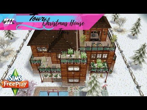 Christmas House | Tour | My Design | Sims FreePlay
