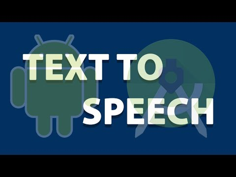 Text To Speech Tutorial Android Studio