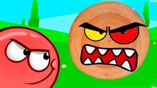 Red Ball 4 КРАСНЫЙ ШАРИК против черного КВАДРАТА #1 - мультик игра видео для детей