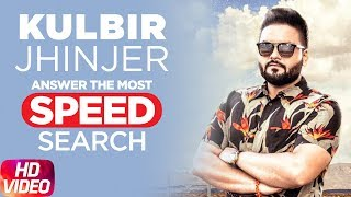 Kulbir Jhinjer | The Most Search Speed Questions | Speed Records