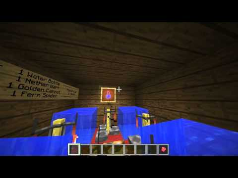 Minecraft How To Make A Potion Of Invisibility